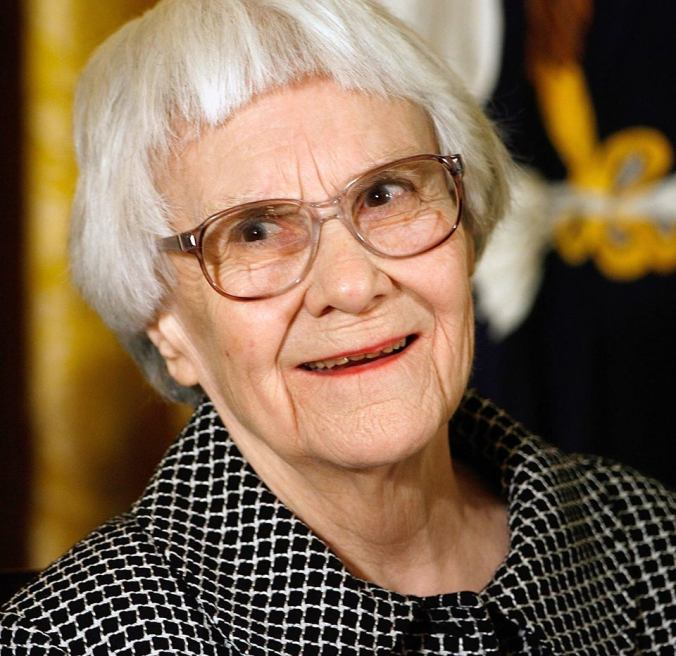 The author of To Kill A Mockingbird, Harper Lee.