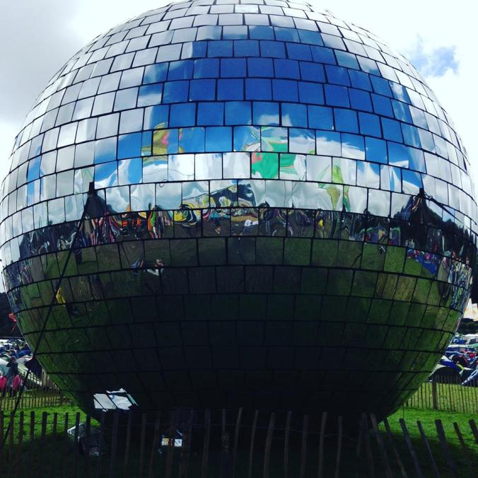 World's biggest mirrorball. Official and that.