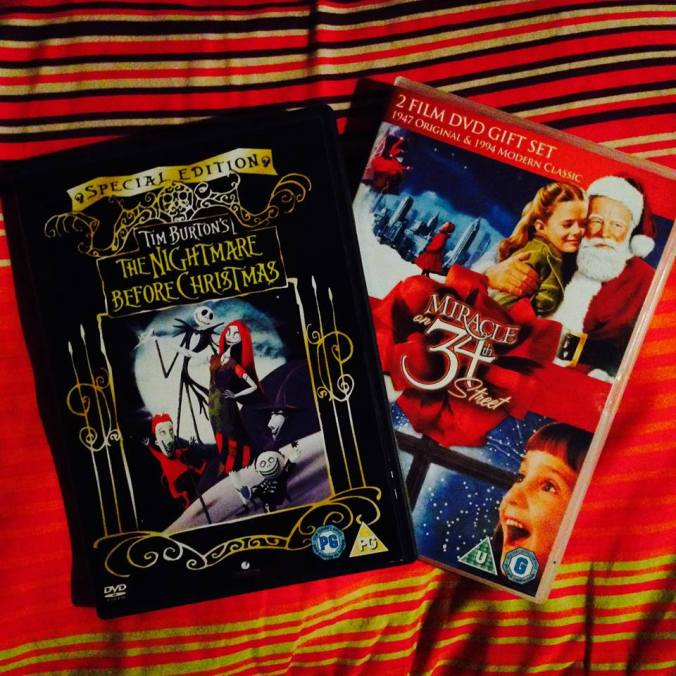 Christmas DVDs 1