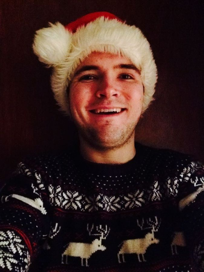 me Christmas jumper